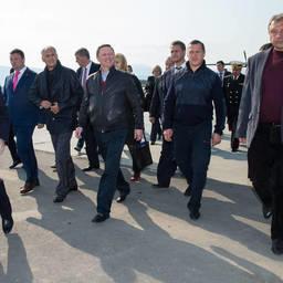 Руководитель администрации Президента Сергей Иванов посетил остров Итуруп. Фото пресс-службы правительства Сахалинской области.