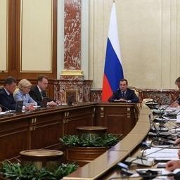 Премьер-министр Дмитрий МЕДВЕДЕВ прокомментировал изменения закона о рыболовстве. Фото пресс-службы Правительства РФ