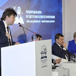 Замдиректора департамента судостроительной промышленности и морской техники Минпромторга Николай ШАБЛИКОВ