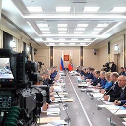 Заседание президиума Госсовета по вопросам рыбной отрасли. Фото пресс-службы президента РФ