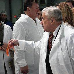 Рабочая встреча руководства Федерального агентства по рыболовству с членами профильных комитетов Государственной Думы и Совета Федерации.