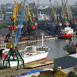 Калининградский порт. Фото пресс-службы регионального правительства