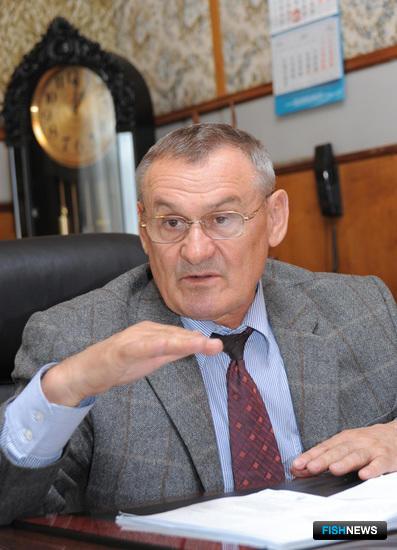 Руководитель ОАО «РК «Приморец» Петр ГОРДИЕНКО