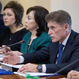 Губернатор Сахалинской области Олег Кожемяко. Фото пресс-службы правительства региона