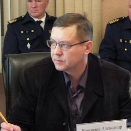 Представитель Владивостокского линейного управления МВД России на транспорте Александр ВОРОПАЕВ