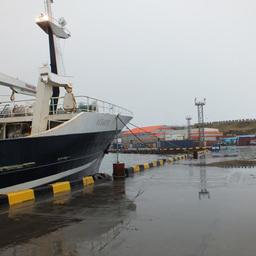 Южно-Курильский рыбокомбинат в этом году принял в состав своего флота еще одно судно и увеличил возможности береговой переработки