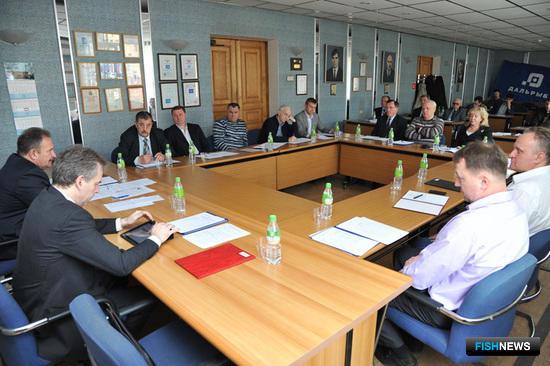 Отчетное заседание Ассоциации рыбохозяйственных предприятий Приморского края