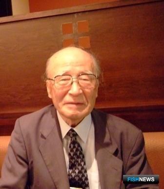 Председатель Общества по изучению осетровых Японии Синъити САЙТО