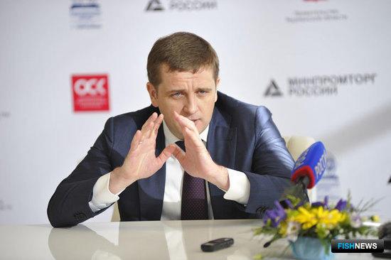 Руководитель Росрыболовства Илья ШЕСТАКОВ на международном форуме по судостроению и безопасности мореплавания