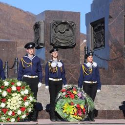 В Петропавловске-Камчатском прошел митинг, посвященный памяти погибших моряков и рыбаков. Фото пресс-службы правительства края