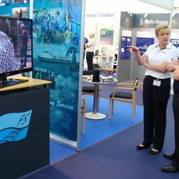 Стенд компании «Фишеринг Сервис» на выставке DanFish International