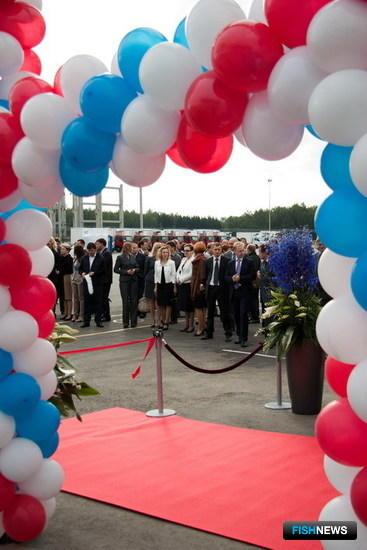 Церемония открытия распределительного центра датской компании «Уренхольт» в подмосковном Чехове