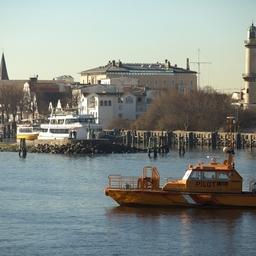 Варнемюнде - первый порт захода в графике учебного рейса. Фото Александра Кучерука.