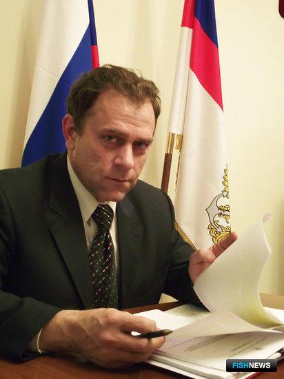 Александр ФОМИН, заместитель руководителя Федерального агентства по рыболовству