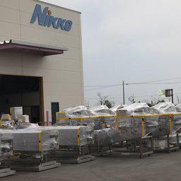 Июнь 2010 – очередная поставка оборудования «Nikko» на Сахалинские предприятия