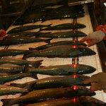 Обработка рыба на Сахалине