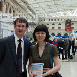 Председатель Совета директоров медиахолдинга Fishnews Эдуард КЛИМОВ и шеф-редактор РИА Fishnews.ru Анна ЛИМ