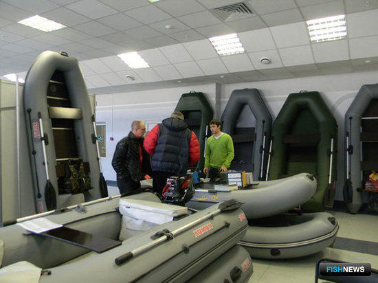 Специализированная выставка «Урал: Спорт. Активный отдых. Рыболовство и Охота 2011». Екатеринбург, март 2011 г.