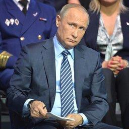 Президент Владимир ПУТИН на «Форуме действий» Общероссийского народного фронта. Фото пресс-службы Кремля