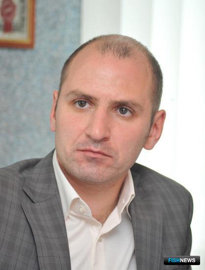 Генеральный директор ООО «Магаданрыба» Руслан ТЕЛЕНКОВ