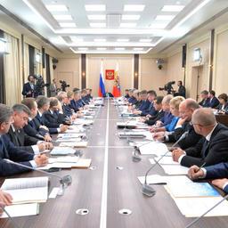 Заседание президиума Госсовета РФ по вопросам развития рыбохозяйственного комплекса, Москва, 19.10.2015