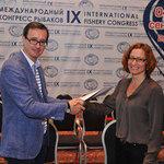 Председатель совета директоров медиахолдинга Fishnews Эдуард Климов и заместитель директора MSC по региону Европы Марни Баммерт подписали меморандум о сотрудничестве