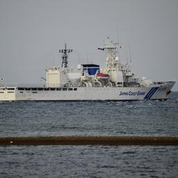 Международное представительство в учении обеспечили сотрудники береговой охраны Японии. Фото Юрия Смитюка