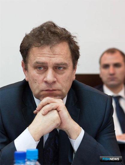 Заместитель руководителя Росрыболовства Александр ФОМИН