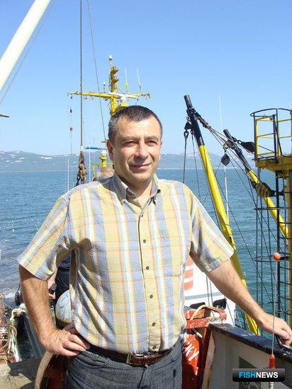 Начальник экспедиции ОАО «Окенрыбфлот» капитан-флагман Валерий ПОНОМАРЕВ