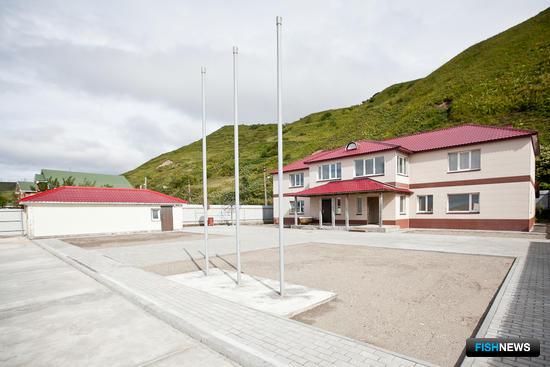 В Сахалинской области завершается строительство отделения парусного спорта. Фото пресс-службы фонда «Родные острова»