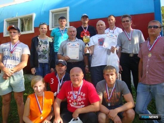 Дружные спорсмены Преображенской БТФ - чемпины спартакиады