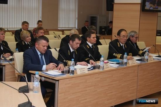 Ректоры подведомственных Росрыболовству вузов. Фото пресс-службы ФАР