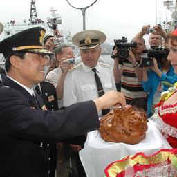 Приморские пограничники принимают гостей из морской полиции Южной Кореи