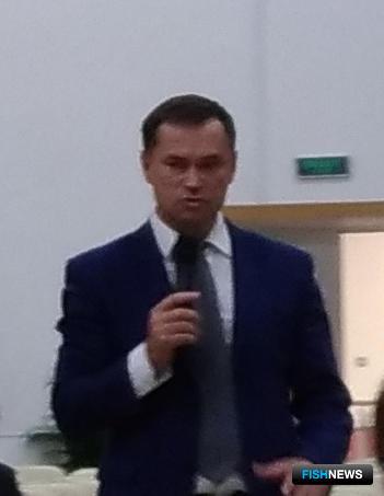 Директор департамента природных ресурсов и охраны окружающей среды Приморского края Александр КОРШЕНКО