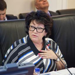 Член Совета Федерации от Приморского края Людмила ТАЛАБАЕВА