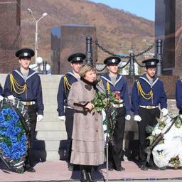 К собравшимся обратилась первый вице-губернатор Камчатского края Ирина УНТИЛОВА. Фото пресс-службы правительства региона