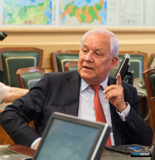 Директор ВНИРО Михаила ГЛУБОКОВСКИЙ