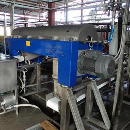 Установка «Альфа Лаваль» по переработке рыбных отходов на предприятии «Корякморепродукт»