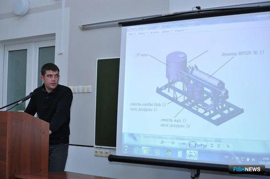 Технический руководитель группы по переработке рыбных отходов ООО «Технологическое оборудование» Георгий ГОТШАЛК