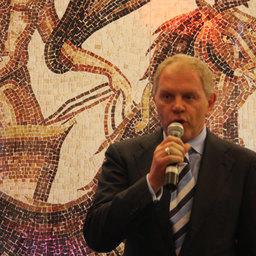 Руководитель Росрыболовства Андрей Крайний открывает Фестиваль российской рыбы и морепродуктов