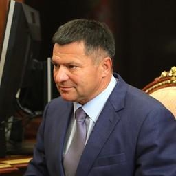 Врио губернатора Приморского края Андрей ТАРАСЕНКО. Фото пресс-службы президента