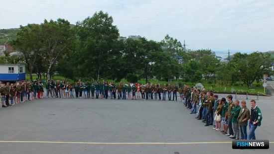 На «красную страду» отправляются студотряды Дальрыбвтуза, ДВФУ и ВГУЭС