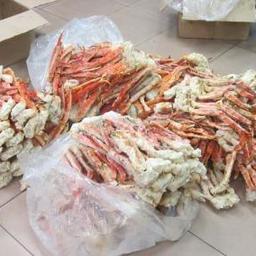 124 кг крабовой продукции были обнаружены в ходе таможенного контроля товаров. Фото пресс-службы Уссурийской таможни