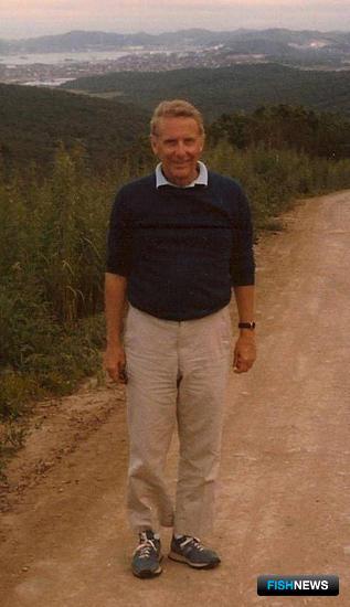 Основатель компании Джим Талбот в Находке. Фото из архива MRCI.