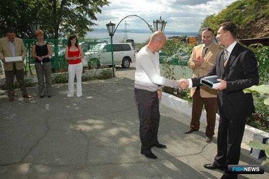 Открытие авторизированного сервисного центра «Альфа Лаваль» на Дальнем Востоке. Владивосток, сентябрь 2009 г.