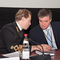 Заместитель руководителя Росрыболовства Василий СОКОЛОВ и Председатель Рыбного Союза Юрий АЛАШЕЕВ