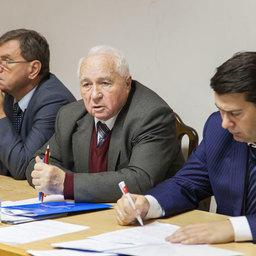 Председатель правления Росрыбхоза Василий ГЛУЩЕНКО (в центре)