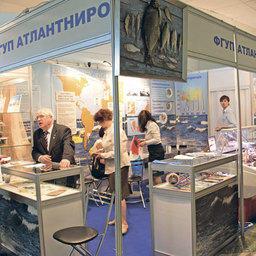 Стенд ФГУП «АтлантНИРО» на выставке «Экспофиш 2011»