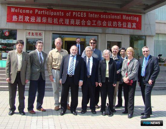 Межсессионное заседание Управляющего и Ученого советов Международной организации по морским наукам (ПИКЕС) состоялось в Циндао