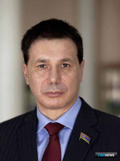 Руководитель Союза рыбопромышленников Карелии Игорь ЗУБАРЕВ